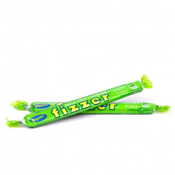 Fizzers. Popular South African hard chewy candy that fizzes in your mouth.