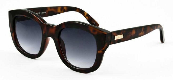 Le Specs LS Runaways-tortoise 549 SEK #lespecs http://www.loveyewear.se/solglasogon/le-specs-ls-runaways-tortoise-brun/