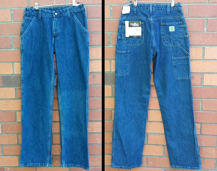 Vintage 90s Carhartt Cargo Jeans / DEADSTOCK / Cargo Pants / Straight Cut / Dungarees / Straps / Utility Pants / Denim / Size 12 / Size 32 by NEONPOINT on Etsy