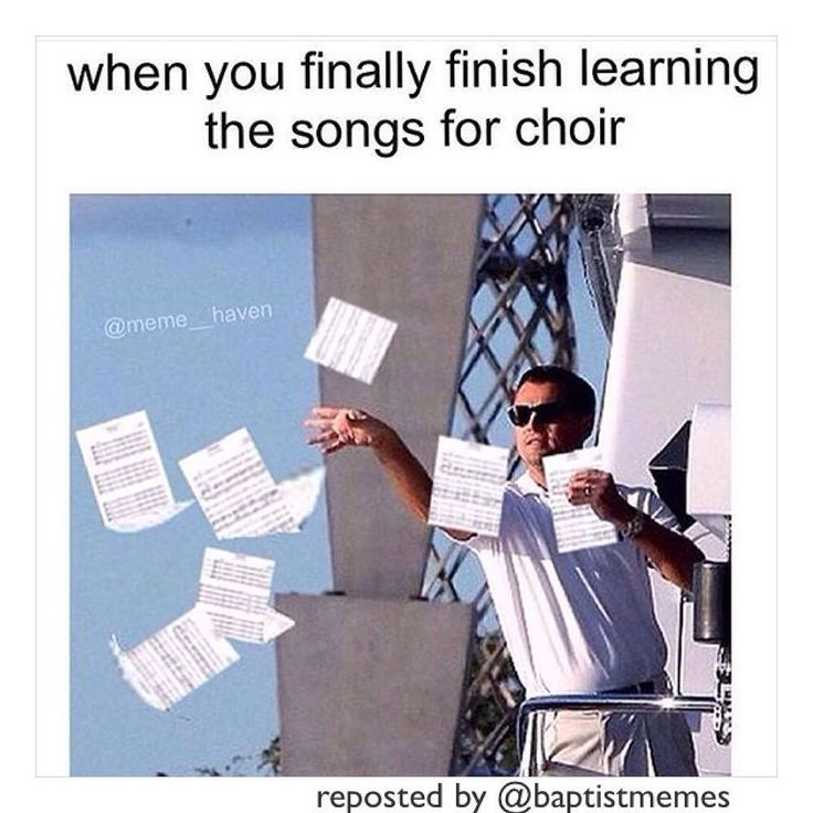 #Choir -@gmx0 #BaptistMemes