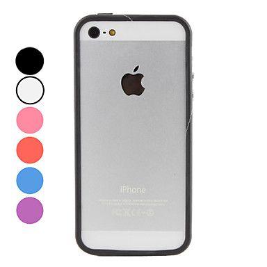 Transpartente iPhone Bumperhoes (in verschillende kleuren) – EUR € 2.24