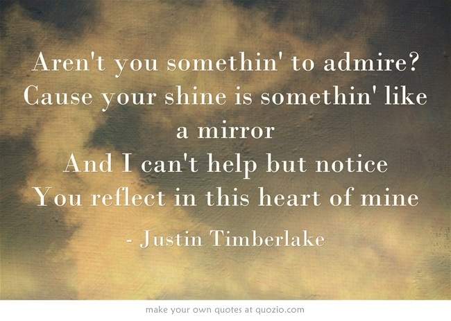Justin Timberlake -Mirrors ... This is an amazing song!