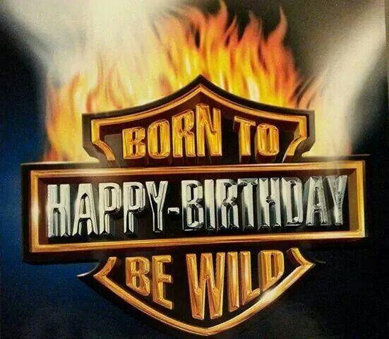 Harley Birthday!