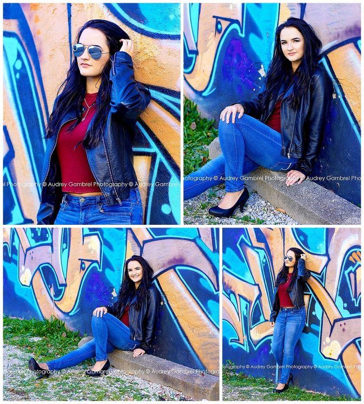Senior Girl, City Session, Downtown Shoot, Graffiti, High School, Senior Portraits