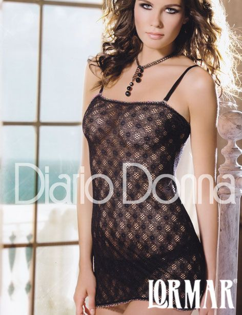 baby doll Lormar lingerie