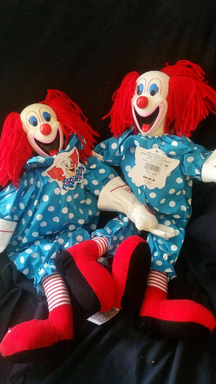 Vintage,Bozo the Clown, Original WGN dolls , talking Bozo by GiuseppinaStudio on Etsy