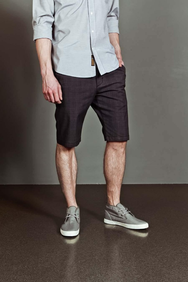 Mens Gray Shorts - The Else