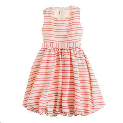 crewcuts alternating stripe bubble dressFlower Girls Dresses, Gillian Dresses, Silk Gillian, Girls Generation, J Crew, Duet Stripes, Little Girls Dresses, Kids, Jcrew