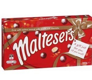 An outer of 8 Maltesers Box 360g.