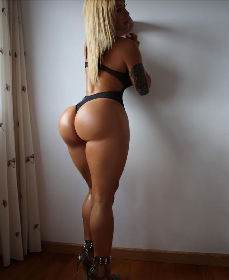 fit woman butts naked