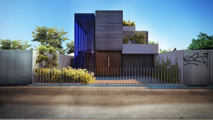 Duckbuild Architecture - Residential Exterior - Townhouse - Lily St