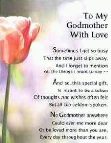 Godmothers, Poem and Love poems on Pinterest