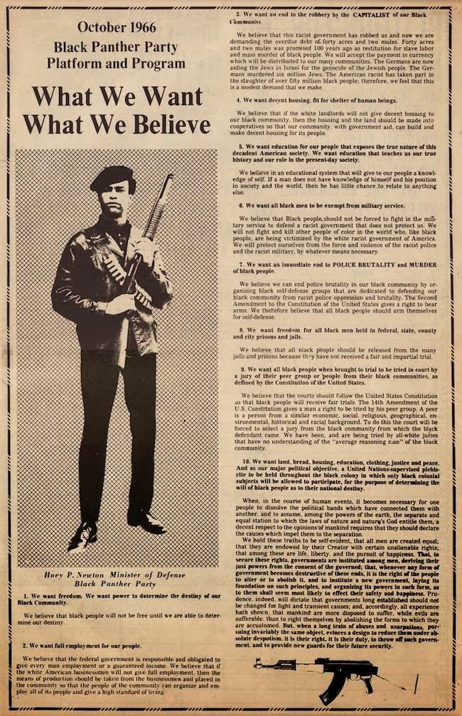 a history of the black panther party bpp Black panther party: black panther party, african american revolutionary party founded in 1966 in oakland, california, by huey newton and bobby seale.