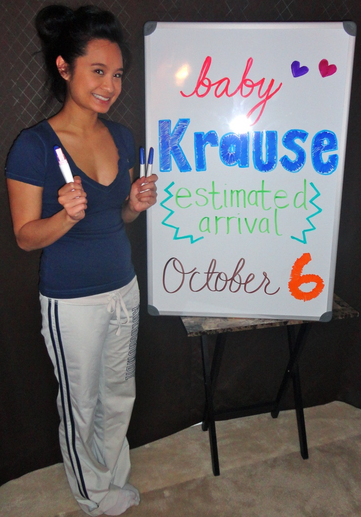 Estimated due date October 6th!