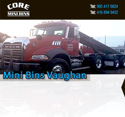 Hey Vaughan! Are you looking to rent waste removal bins? Regardless of how big or small your project is, we can help. With over 20 years of expertise, we have the skills and specialists to tackle any project. We know how stress clutter and rubbish can be so we provide our clients with the best solutions. Contact us at Core Mini Bins today.