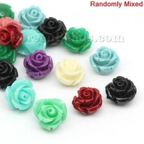 Worldwide Free Shipping (Grade D) Coral ( Imitation ) Loose Beads Flower At Random About 12mm( 4/8) x 12mm( 4/8), Hole: Approx 1mm, 20 PCs [B20300] at incredible low price– DoreenBeads.com