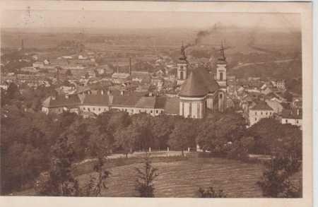 Moravský Šternberk, celkový pohled na město