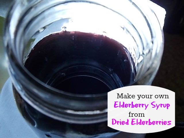 how to make tea with dried elderberries