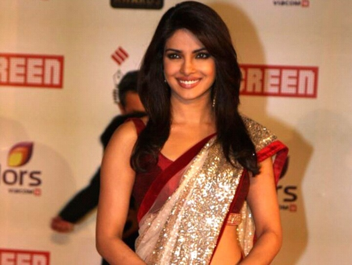 Prianka Chopra,actresss India in SAREE: Priyanka Chopra, Although, Style, Indian Outfits, Color, Bollywood Saree, Bollywood Actresses