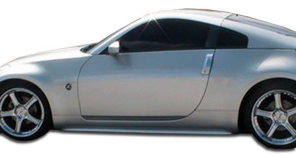 2003-2008 Nissan 350Z Duraflex S Design Side Skirts Rocker Panels - 2 Piece