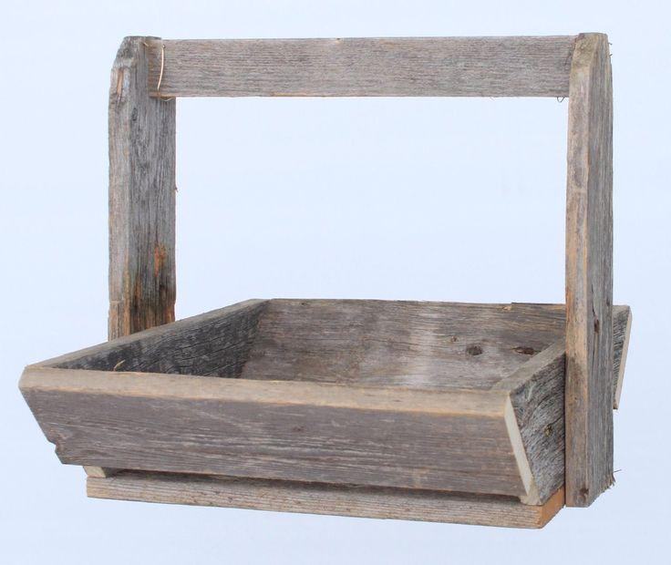 Wood Basket from Barnwood USA $25