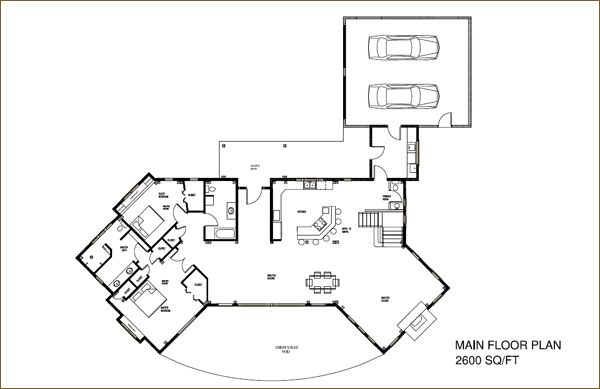 Lakefront house plans lake front house plans lake for Lakefront home floor plans