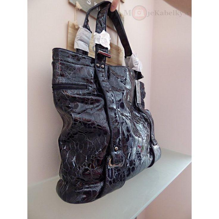 Značková kabelka Aqua Bags fialová ekokoža - MK-AB6075
