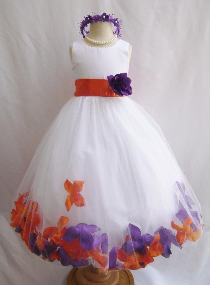 Wallao.com - Rose Petal Dress Combination Orange and Purple (Custom Colors), $42.99 (http://www.wallao.com/rose-petal-dress-combination-orange-and-purple-custom-colors/)