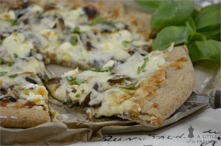 Rezept: Der beste Vollkorn-Pizzateig ever(Recetas Fitness Comida)