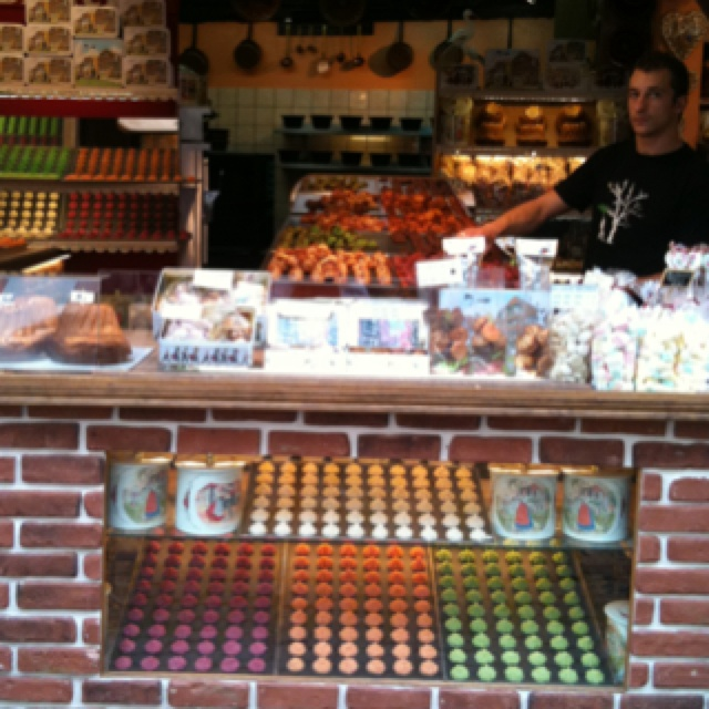 Macaroons in France on the Route de Vin
