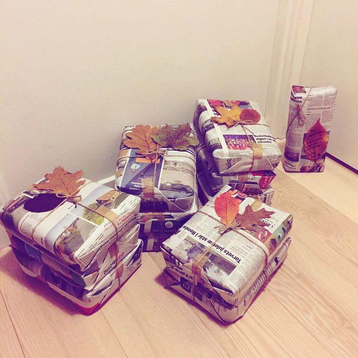 http://ecokitch.dk/shop/gaveindpakning/gaveindpakning-faa-din-gave-pakket/?v=9412926e0861  Gaveindpakning, gave, gaveidé, bæredygtig, bæredygtighed, genbrug, avispapir, avis, blade, natur, efterår