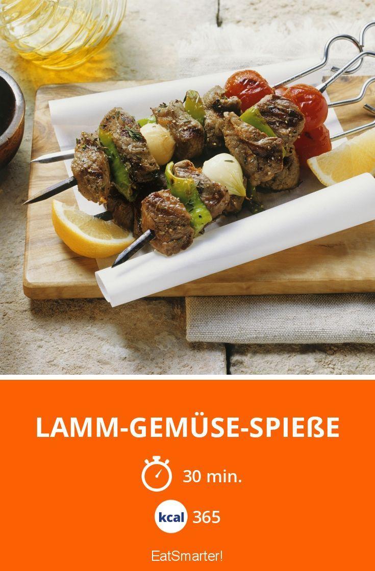 Lamm-Gemüse-Spieße