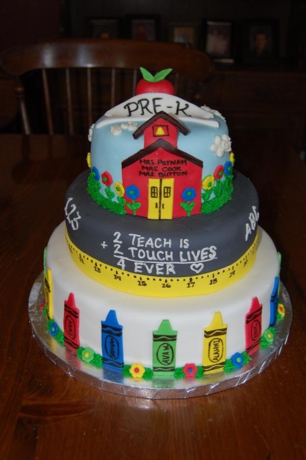 Cookie Cake Idea For Pre K Grad