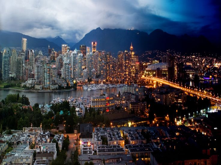 Vancouver, BC, Canada Desktop HD Wallpaper ready to set up your Widescreen only for FREE download from the most beautiful travel places category.