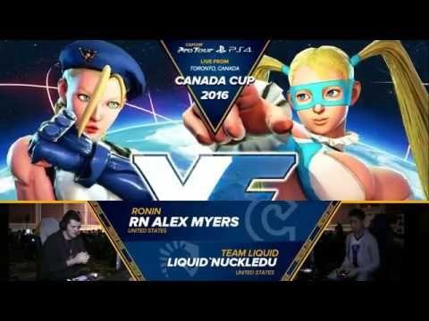 Canada Cup 2016 SFV Top 8