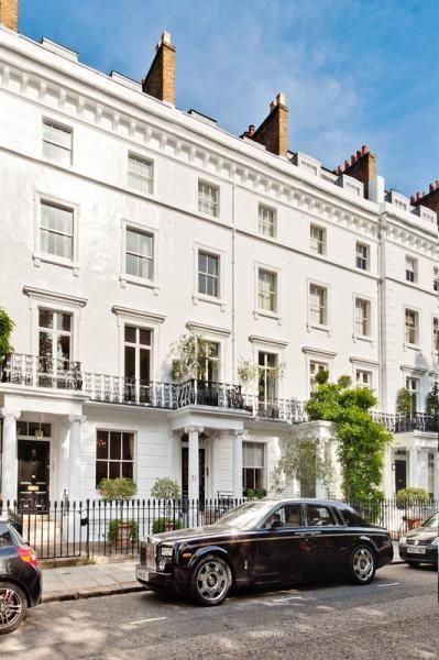 5 Sumner Place, South Kensington, London - what a beautiful place to stay!