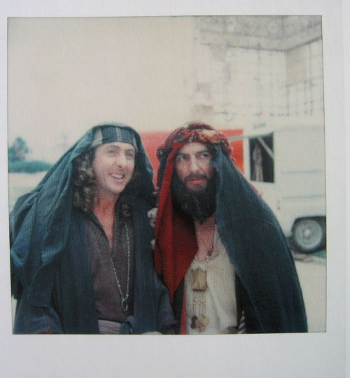 When I met George it was love at first sight. He was absolutely irresistible. We'd stay up all night playing and laughing. He made me do all the Python sketches and I made him do all the Beatle songs. Eric Idle