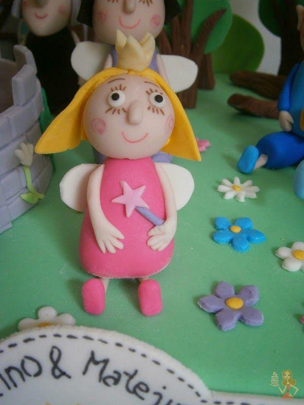 Make me a cake: Little Kingdom - Princess Holly gumpaste figure tutorial