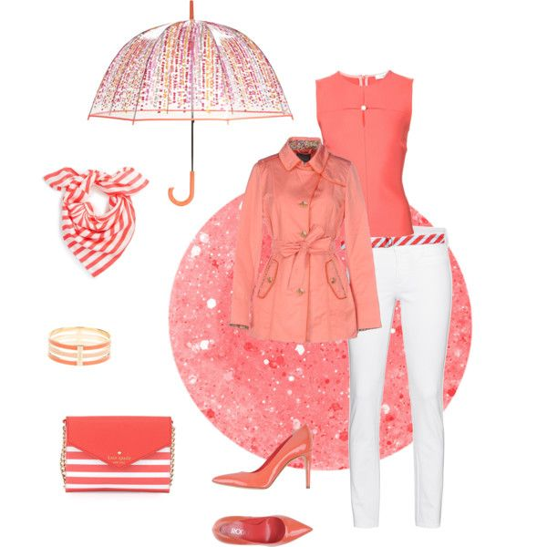 A happy spring set by besyata on Polyvore featuring мода, Thierry Mugler, Landi, MiH, Rodo, Kate Spade, Chloé, Vera Bradley, J.Crew and women's clothing