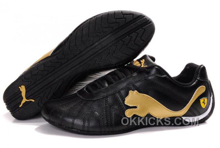 http://www.okkicks.com/womens-puma-speed-cat-big-black-gold-hot-now-c2tam.html WOMENS PUMA SPEED CAT BIG BLACK GOLD HOT NOW C2TAM Only $73.00 , Free Shipping!