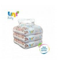 Uni Baby Cream Islak Havlu 6'lı Fırsat Paketi / 336 Yaprak
