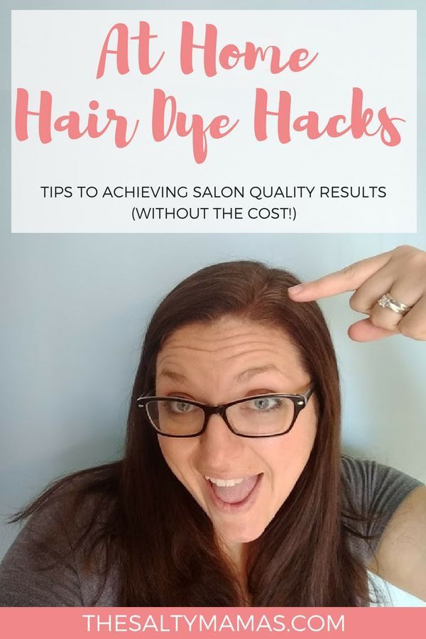 Salon Results at Box Dye Prices- At Home Hair Dye Hacks with ...