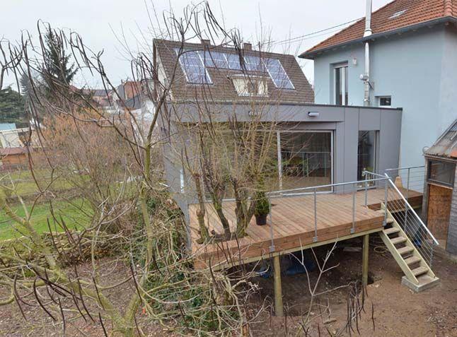 jardin en pente terrasse pilotis recherche google terrasse house styles home decor deco