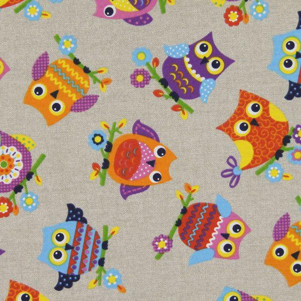 Sowia szkoła - Tkaniny dekoracyjne dziecięcefavorable buying at our shop
