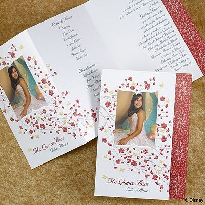 18 Best Quinceanera Images On Pinterest Birthday Invitations