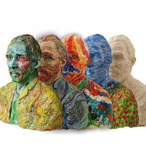 Art Projects - my contribution in the series Vincent's revival now officially! http://www.iensluyters.nl/meester-van-toen-zoekt-meester-van-nu/