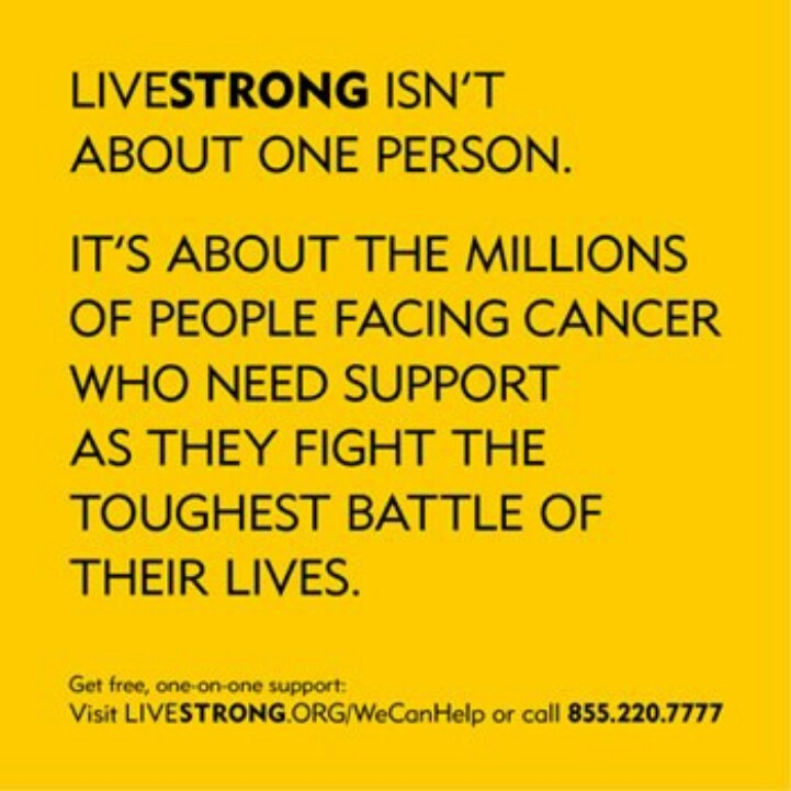 the creation and history of the livestrong foundation - this brought on the creation of the livestrong foundation the livestrong foundation (formerly known as the lance armstrong foundation) was founded in 1997 by lance armstrong and is a nonprofit organization that focuses on victims and their families that are affected by cancer.