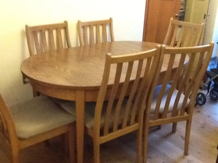 Extendable dining table and six chairs Cardiff Gumtree  : d157f8489aaa5929afbe565641f1558c from uk.pinterest.com size 736 x 552 jpeg 58kB