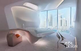Resultado de imagem para MObiliário futurista da arquiteta zaha hadid