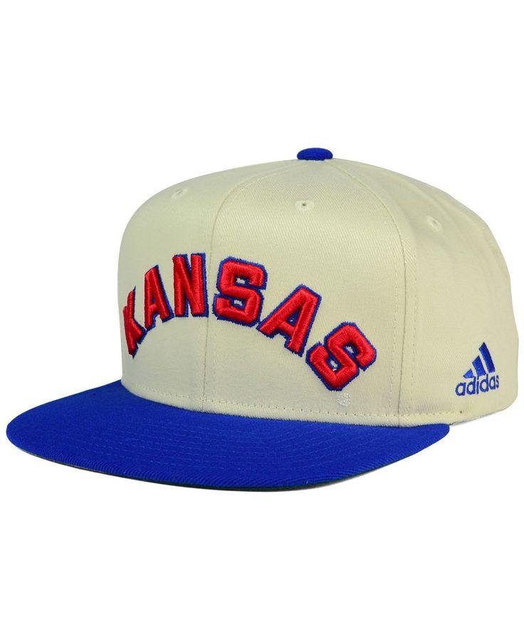 adidas Kansas Jayhawks Hardwood Classics Snapback Cap